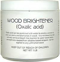 wood brightener