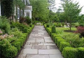Straight Stone Path