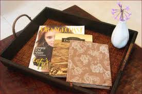 magazine tray