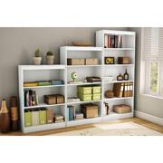 varied sized shelves