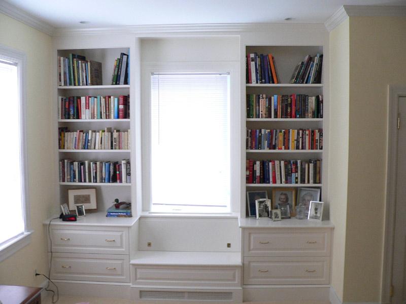 book shelves, John Silva, The Fix it Professionals