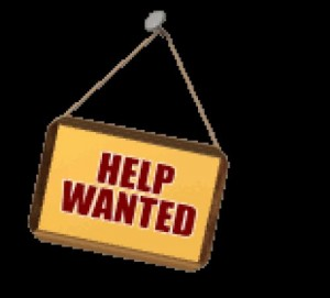 help wanted sign, John Silva, The Fix It Profesionals