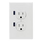 outlet with USB, John Silva, The Fix-It Professionals