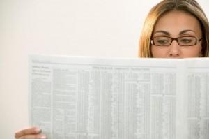 Reading the newspaper, John Silva, The Fix-It Professionals