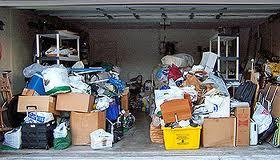 Cluttered Garage, John Silva, The Fix-It Professionals