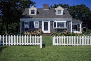 Home with fence, John Silva, The Fix-It Professionals
