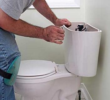 low flow toilet, John Silva, The Fix-It Professionals