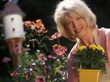 women in garden, John Silva, The Fix-It Professionals